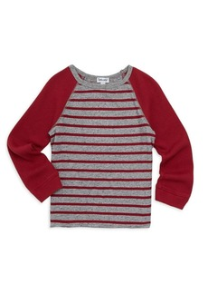 Splendid Little Boy's & Boy's Striped Raglan Top