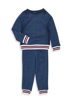 Splendid Little Boy's Two-Piece Striped Top & Joggers Set