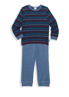 Splendid Little Boy's Two-Piece Sweatshirt & Sweatpants Set