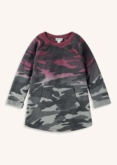 Splendid Little Girl Dip Dye Camo Dress