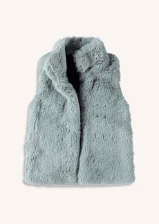 Splendid Little Girl Faux Fur Zip Vest