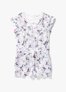 Splendid Little Girl Floral Print Romper