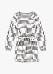 Splendid Little Girl Long Sleeve Midi Dress Set