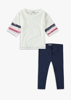 Splendid Little Girl Roller Stripe Tee Set