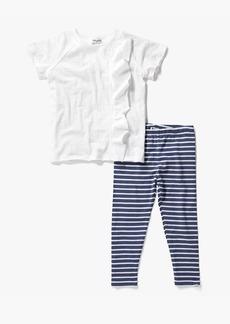 Splendid Little Girl Stripe Legging Set