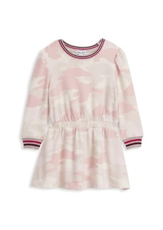 Splendid Little Girl's & Girl's Long-Sleeve Camouflage Dress