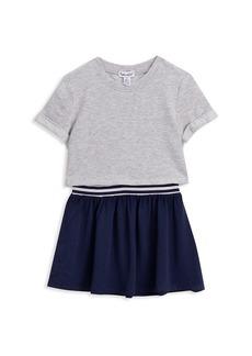 Splendid Little Girl's & Girl's Mixed-Media Flared Dress