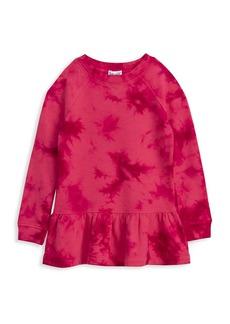 Splendid Little Girl's & Girl's Tie-Dye Ruffle Dress
