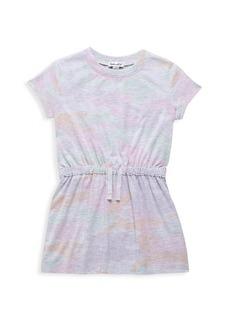 Splendid Little Girl's Camo Drawstring T-Shirt Dress