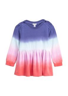 Splendid Little Girl's Dip-Dyed Dress
