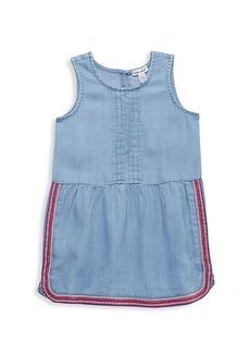 Splendid Little Girl's Embroidery Chambray Dress