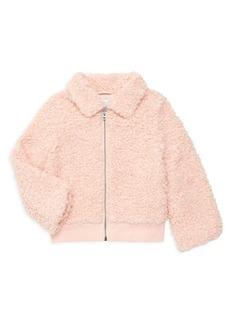 Splendid Little Girl's Faux Fur Jacket