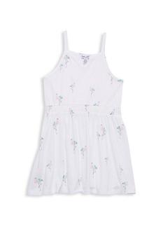 Splendid Little Girl's Flamingo-Print Cotton-Blend Dress