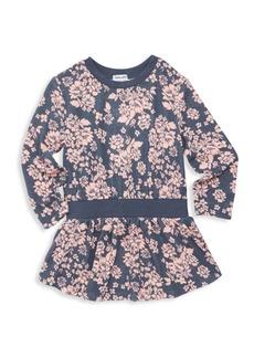 Splendid Little Girl's Floral Blouson Dress