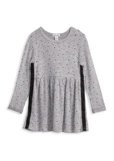 Splendid Little Girl's Hacci Star Dress