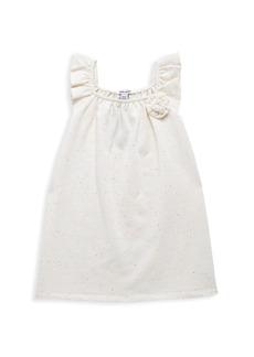 Splendid Little Girl's Neon Speck Shift Dress