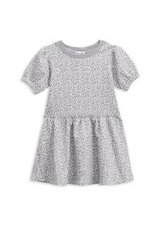 Splendid Little Girl's Short-Sleeve Leopard Print Dress