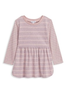 Splendid Little Girl's Striped Long-Sleeve Dress