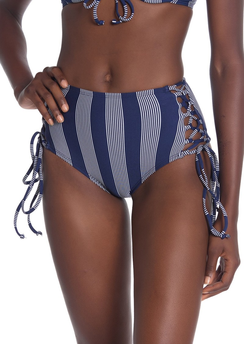 Splendid Long Lines High Waisted Bikini Bottoms