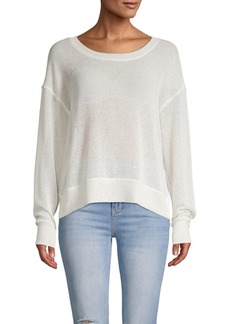 Splendid Long-Sleeve Roundneck Sweater