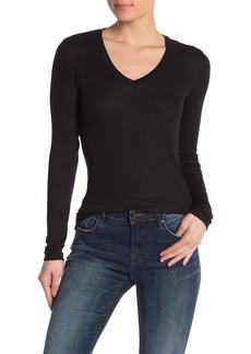Splendid Long Sleeve V-Neck T-Shirt