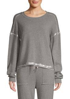 Splendid Luna Metallic Sweatshirt