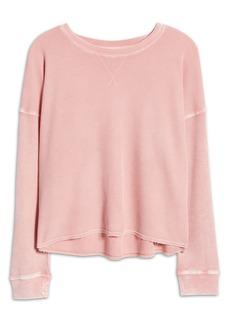 Splendid Mineral Wash Long Sleeve Pullover