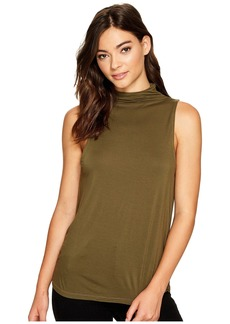 Splendid Mock Neck Tank Top