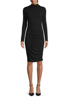 Splendid Mockneck Bodycon Fit Dress
