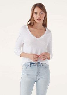 Splendid Modal Jersey Long Sleeve V-Neck Tee