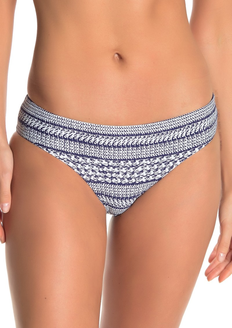 Splendid Nautical Stripe Retro Bikini Bottoms