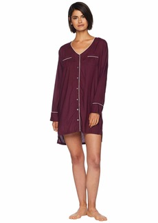 Splendid Night Sky Button Front Sleepshirt