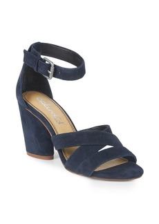 Splendid Nolan Block Heel Suede Sandals