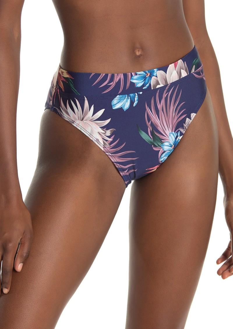 Splendid Off Tropic High Waisted Bikini Bottoms