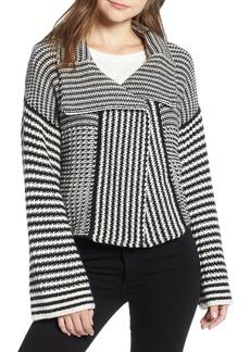 Splendid Onyx Knit Jacket