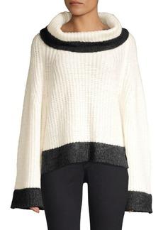 Splendid Ophelia Contrast Trim Sweater
