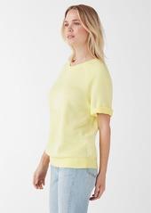 Splendid Palisades Active Short Sleeve Pullover