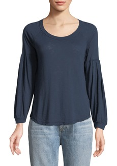 Splendid Peasant-Sleeve Tee