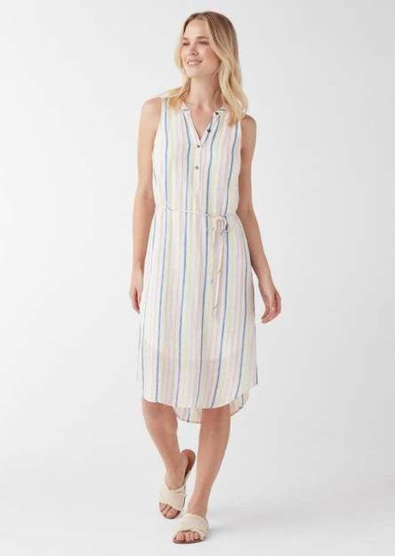 Splendid Picnic Stripe Midi Dress