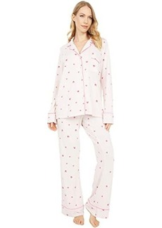 Splendid Pillowsoft Notch Collar PJ Set