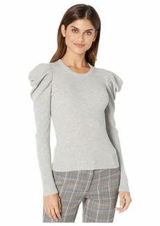 Splendid Puff Sleeve Pullover Sweater