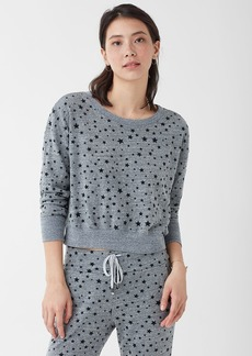 Splendid Pullover Star Sweatshirt