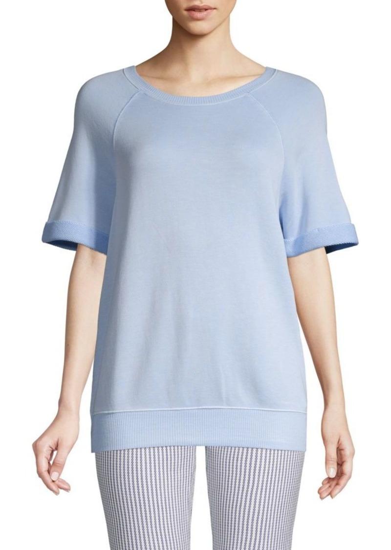 Splendid Raglan-Sleeve Roundneck Sweater
