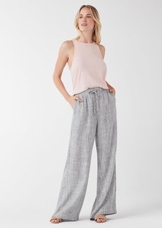 Splendid Railroad Stripe Striped Wide Leg Pant