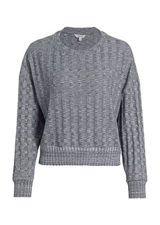Splendid Reed Cable-Knit Top