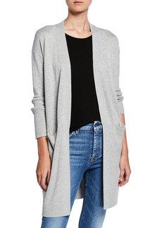 Splendid Retreat Cashmere-Blend Open-Front Cardigan