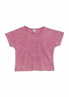 Splendid Ribbed Short-Sleeve Top  Size 7-14
