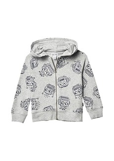 Splendid Robot Print Hoodie Jacket (Toddler/Little Kids/Big Kids)