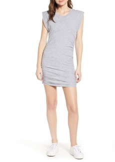 Splendid Ruched Jersey Minidress