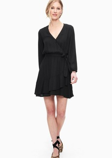 Splendid Ruffle Surplice Dress